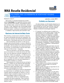 NHA Reseña Residencial - Northwest Housing Alternatives