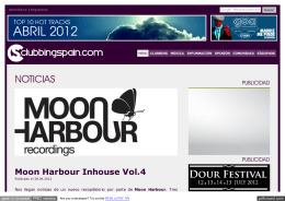 NOTICIA: Moon Harbour Inhouse Vol.4 // Clubbingspain.com