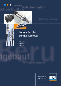Construcción y función de la sonda Lambda
