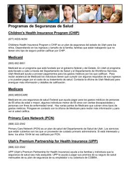 Programas de Seguranzas de Salud