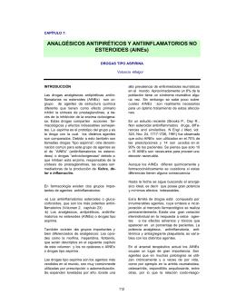 AINEs - Facultad de Medicina