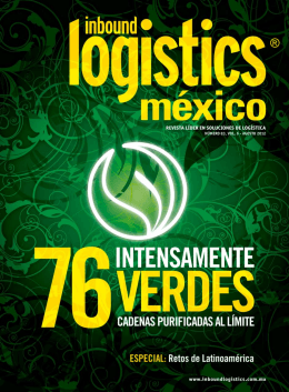 Revista 83 - Inbound Logistic Latam