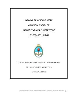 informe de mercado sobre comercializacion de indumentaria en el