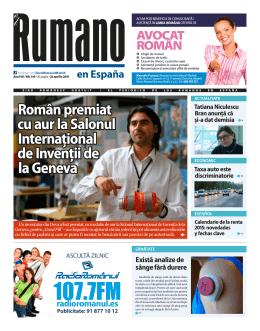 nr. 143 - Periodico El Rumano España