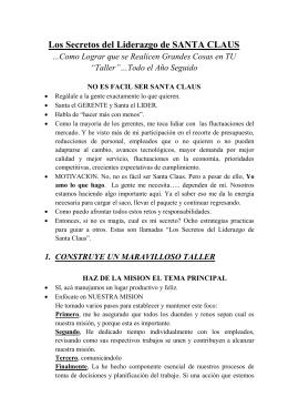 Los Secretos del Liderazgo de SANTA CLAUS