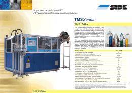 Blowers Of preformas PET. TMMS Series