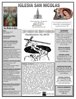 NOVENARIO San Judas Tadeo Vengan a hacer su Novenario