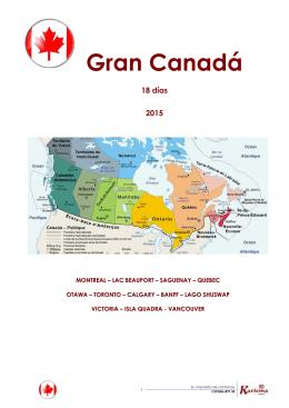 Gran Canadá - karisma tours