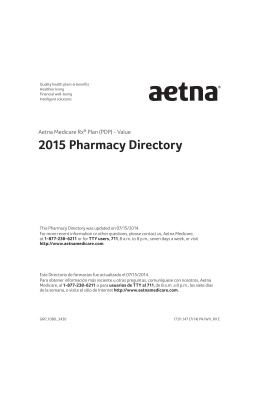 2015 Pharmacy Directory