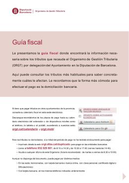 Guía fiscal