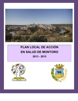Plan local de acción en salud de montoro