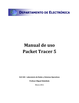 Manual de uso Packet Tracer 5