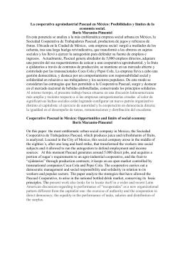 La cooperativa agroindustrial Pascual en México