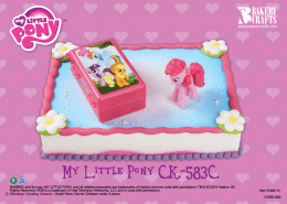 My Little Pony CK-583C