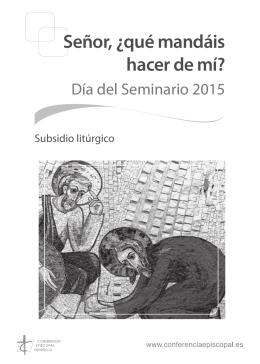 Subsidio litúrgico - Conferencia Episcopal Española