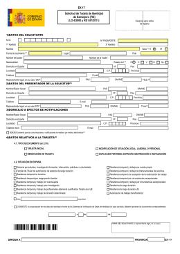 EX-17 - Ministerio de Empleo y Seguridad Social