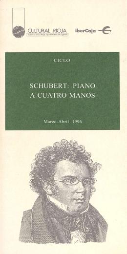 SCHUBERT: PIANO A CUATRO MANOS