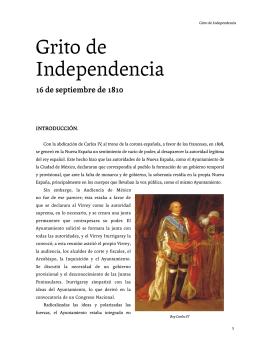 Grito de Independencia - Secretaría de la Defensa Nacional