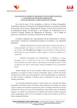 Fallo  - Institución Cultural EL BROCENSE