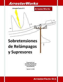 Sobretensiones de Relámpagos y Supresores