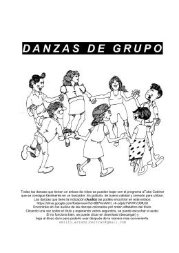 DANZAS DE GRUPO - pazuela