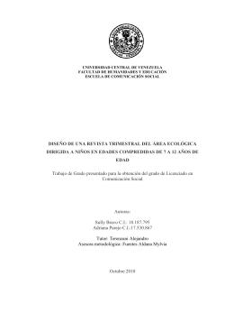 Tesis. Revista Venecologica - Saber UCV