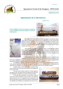 Agrupacion Escala N de Zaragoza: ARTICULOS