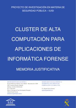 Pedro A. Revenga de Toro - Instituto Universitario de Investigación