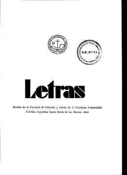 Letras N° 10 (número completo) - Biblioteca Digital