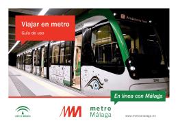 Viajar en metro: Guía de uso