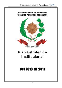 Plan Estrategico - Escuela Militar de Chorrillos