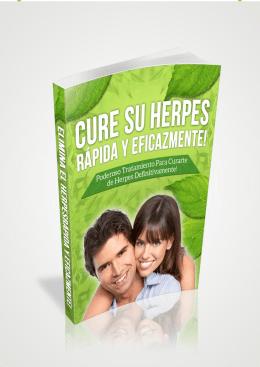 Cure su Herpes Rapida y Eficazmente 1