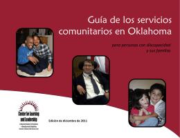 Guía de los servicios comunitarios en Oklahoma