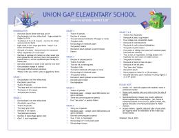 UNION GAP ELEMENTARY SCHOOL
