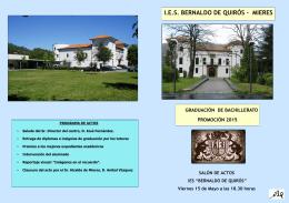 I.E.S. BERNALDO DE QUIRÓS - MIERES