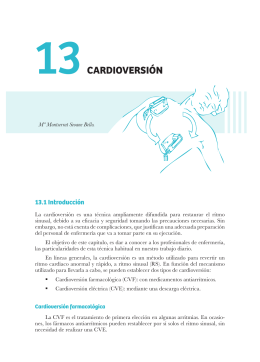 Capítulo 13. Cardioversión