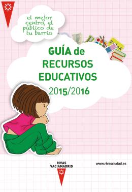 Guía de Recursos Educativos - Ayuntamiento Rivas Vaciamadrid