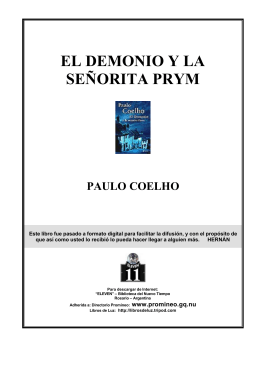 Coelho, Paulo - El Demonio y la Señorita Prym