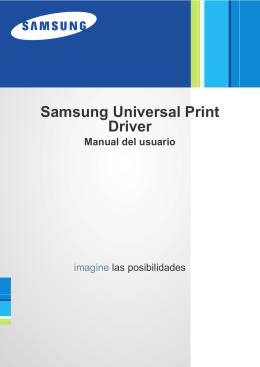 Samsung Universal Print Driver