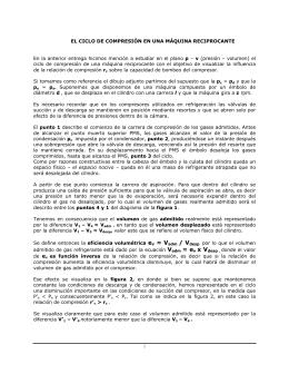 EL CICLO DE COMPRESIÓN EN UNA MÁQUINA