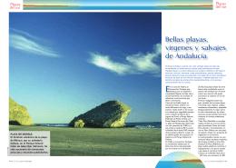 Bellas playas, vírgenes y salvajes de Andalucía