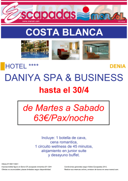 COSTA BLANCA DANIYA SPA & BUSINESS