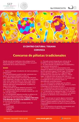 concurso de piñatas tradicionales