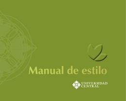 Descargar el manual de estilo