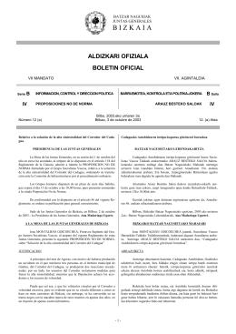 aldizkari ofiziala boletin oficial