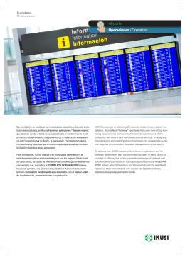 Operaciones / Operations Airports