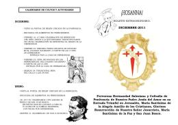 hosanna extraordinario 2011 - Hermandad Salesiana de la