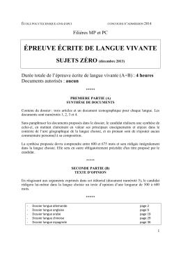 Concours X_ENS_ESPCI_SUJETS_0_langues