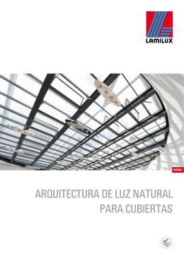 arquitectura de luz natural para cubiertas