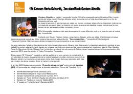 Gustavo Almeida, cantante y compositor brasileño